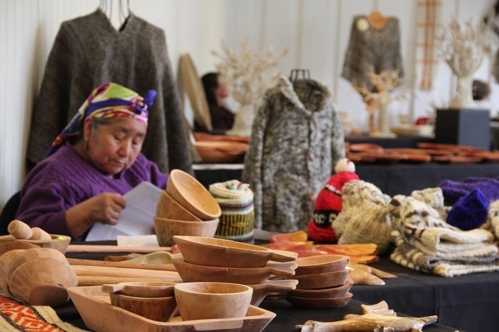 Amelia Huenullanca, textilería mapuche