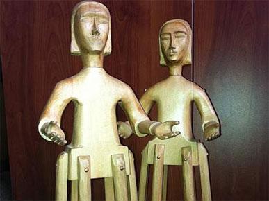 Estatuilla Premio Regional Los Lagos