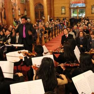 Concierto en la iglesia San Francisco de Castro