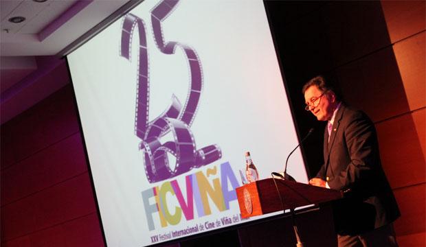 Ministro de Cultura inaugura Festival de Cine de Viña del Mar 2013