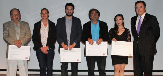 Premiación Escrituras de la Memoria 2013