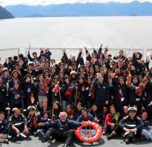 Travesía Aysén, Comitiva Orquestas