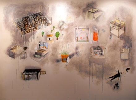 Obra del artista Francisco Morales, ganador Premio APECH 2013