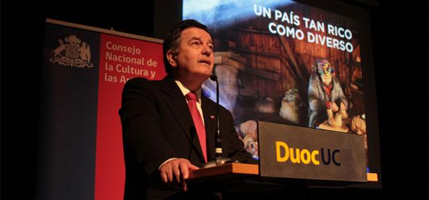 Ministro Ampuero realizó en Valparaíso su cuenta pública 2013