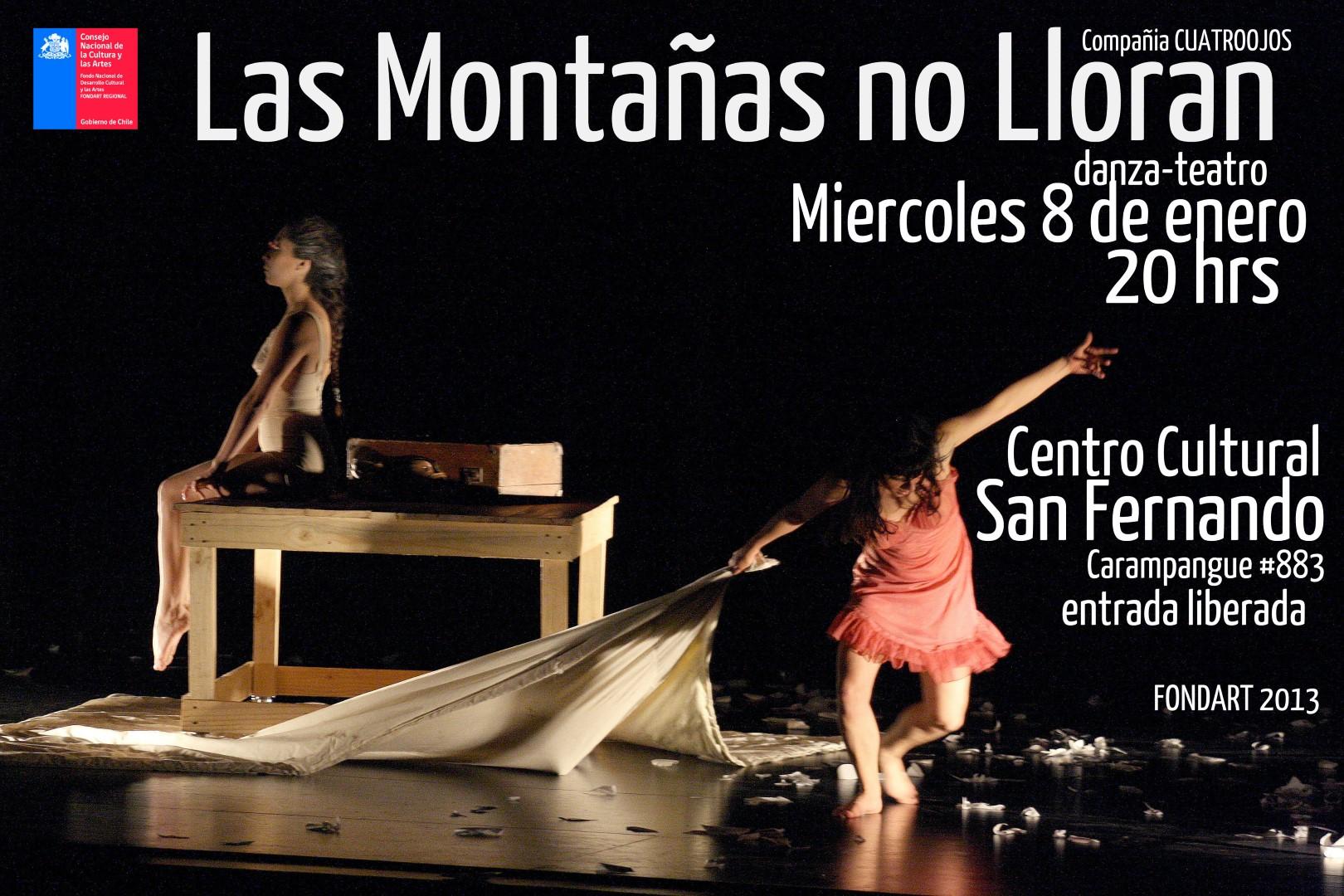 """""""Las montañas no lloran"""""""