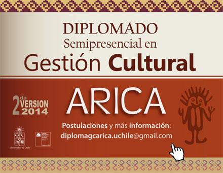 Diplomado en Gestión Cultural de la Universidad de Chile en Arica