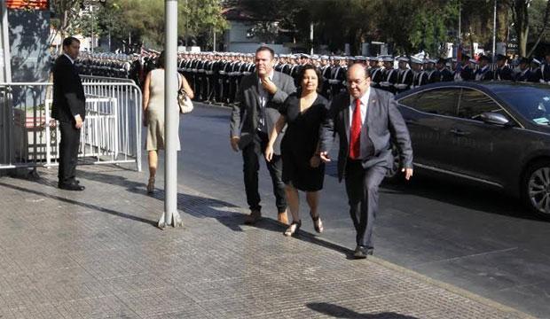 Ministra Claudia Barattini participó en Servicio de Acción de Gracias en Catedral Evangélica