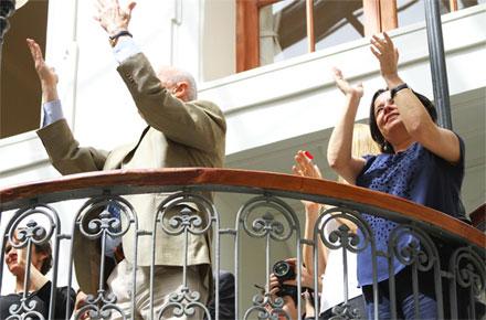 Ministra Barattini y alcaldesa Tohá inauguran remodelado edificio del Teatro Municipal