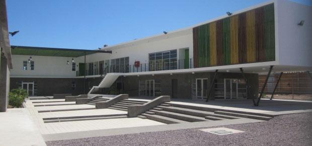 El Centro Cultural de Alto Hospicio es uno de los inmuebles dañados por el terremoto (Imagen: archivo CNCA)