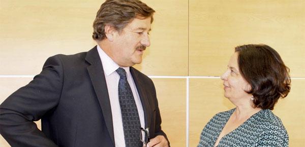 Ministra Barattini y diputado Farías analizaron creación del Ministerio de Cultura y Patrimonio
