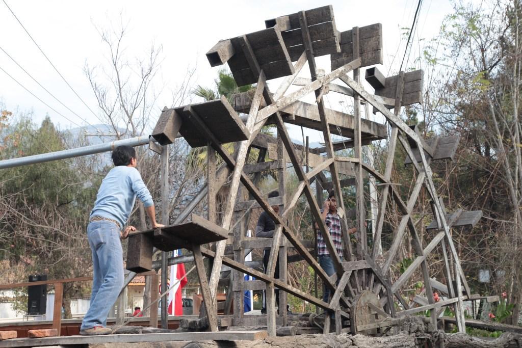 Celebración del Día del Patrimonio en las Ruedas de Larmahue de Pichidegua.