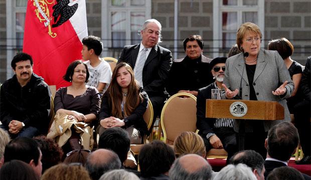 Presidenta Michelle Bachelet anunció red de 15 Centros de Desarrollo Artístico Infantil y Juvenil