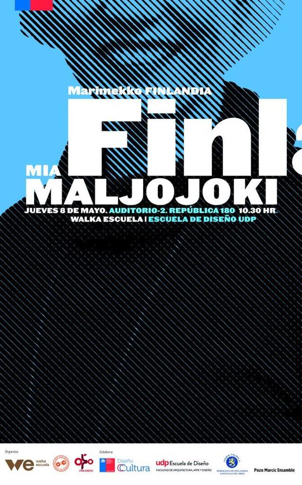 Mia Maljojoki en Chile