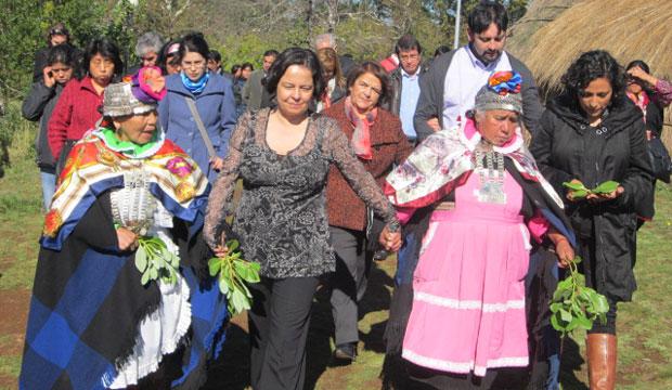 En un diálogo desarrollado con las comunidades mapuche de Cañete, Región del Bío Bío, Claudia Barattini destacó la creación de la Unidad Indígena del Consejo de Cultura como un primer avance en la construcción de un nuevo diálogo.
