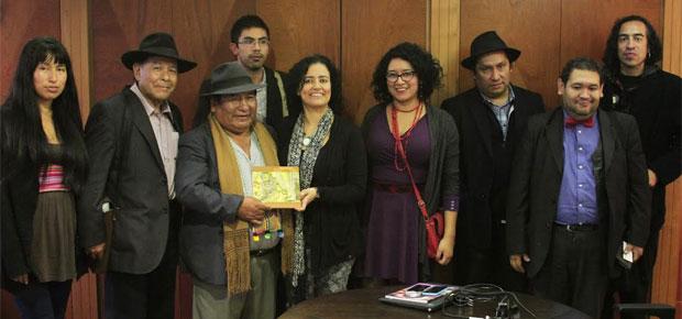 Subdirectora de Cultura se reunió con comunidades indígenas para acordar un trabajo conjunto