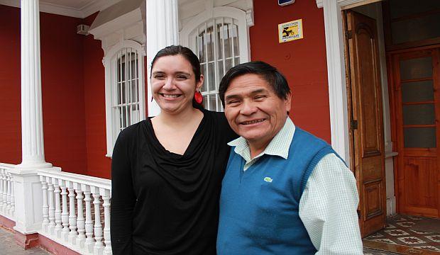 Autoridades juntos en el CNCA de Tarapacá