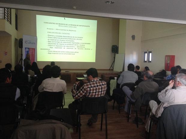 Representantes de museos, municipios y entidades culturales de diversas comunas de la Región participaron de la actividad.