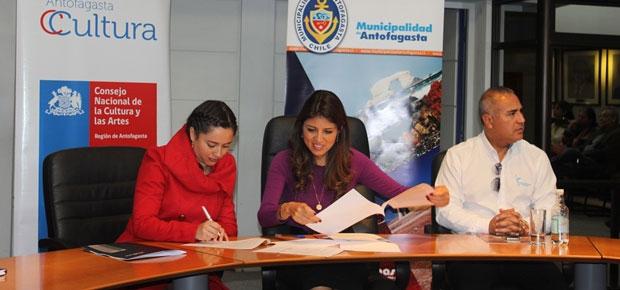 Convenio CNCA y Municipalidad de Antofagasta