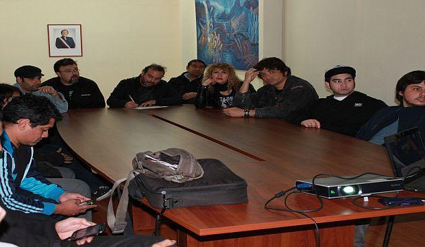 Los músicos de Tarapacá reunidos en el CNCA