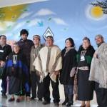 Inauguración mural Cesfam Niebla