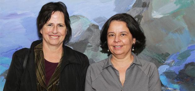 La ministra de Cultura, Claudia Barattini, tras reunirse con la agregada cultural María José Fontecilla, aseguró que ésta puede ser una gran ventana para dar a conocer el trabajo de los artistas nacionales.