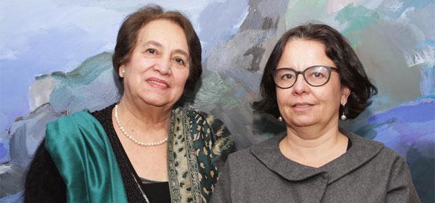 La Ministra de Cultura, Claudia Barattini, se reunió este martes con la decana de la Facultad de Arte de la Universidad de Chile, Clara Luz Cárdenas