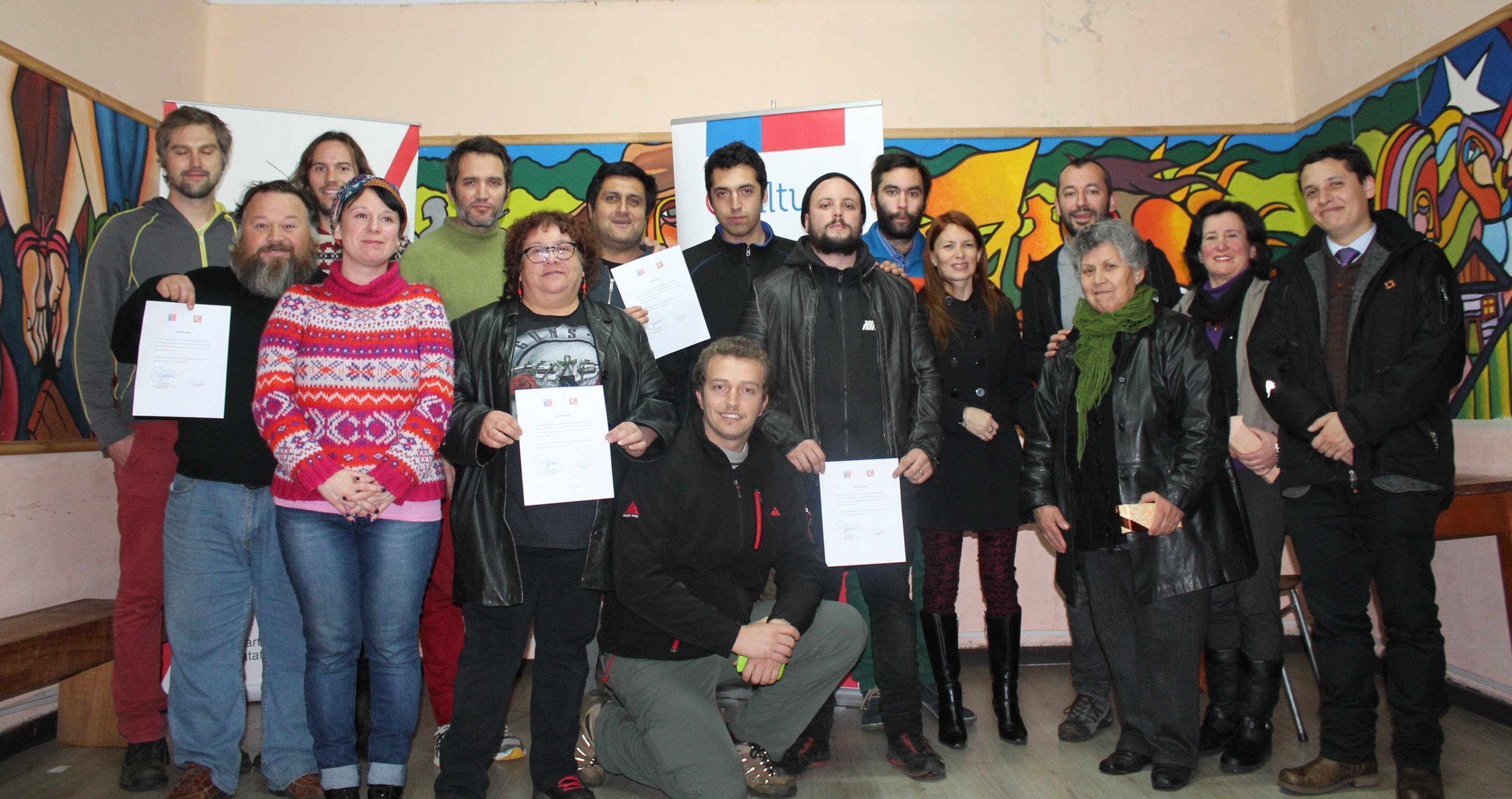 Certificacion Workshops Cinematográficos Valdivia