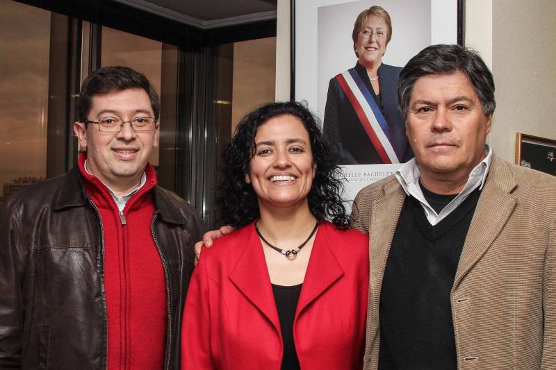 Subdirectora Lilia Concha y Caritas