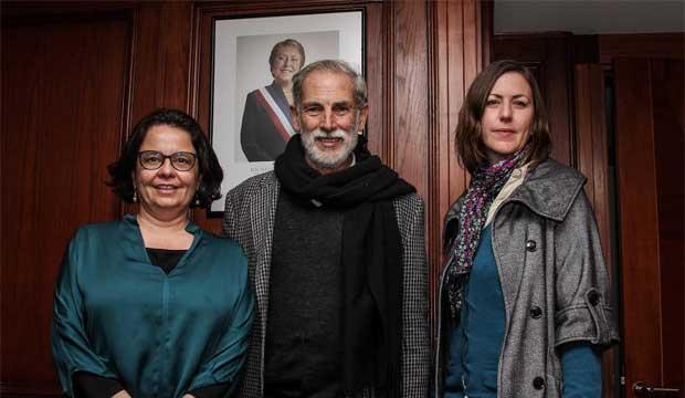 Ministra Barattini expresó su inquietud por la situación de salas de teatro nacionales
