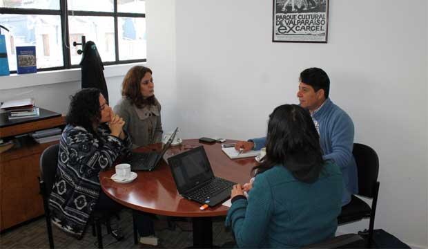 Subdirectora Lilia Concha se reunió con organizadores del Festival Mil Tambores