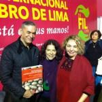 FIL Lima: Embajador Roberto Ibarra, Isabel Alvarez Gravidas, investigadora gastronómica peruana, y la escritora e investigadora chilena Sonia Montecino