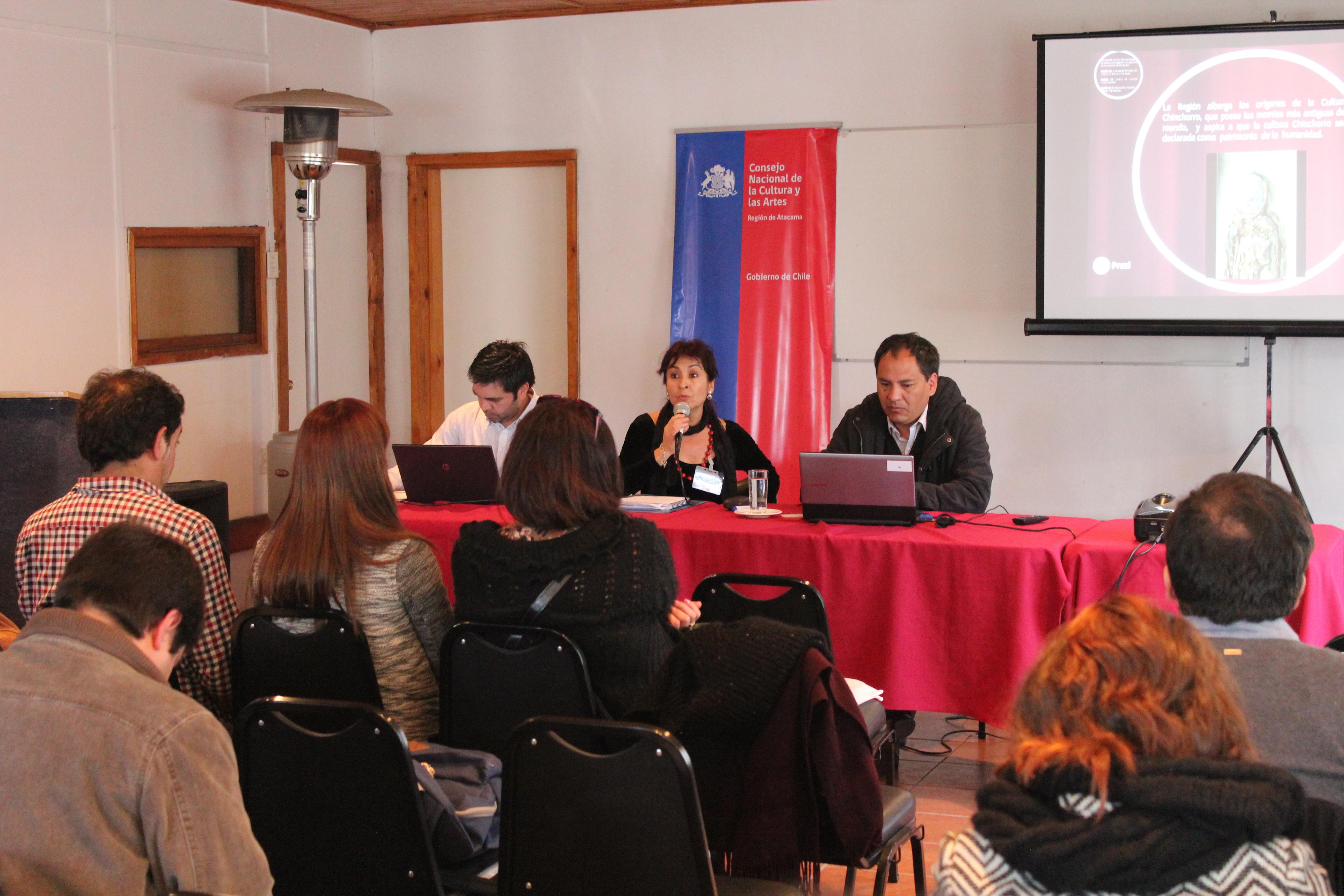 Arica presente en Macrozonal Norte de Cultura