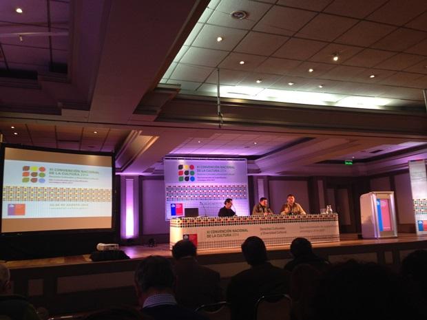 Parte de los paneles efectuados en XI Convención Nacional de Cultura.