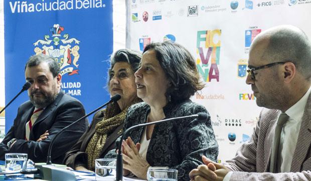 Ministra Barattini valoró el Festival de Cine de Viña como plataforma para las producciones nacionales