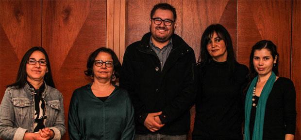 Ministra de Cultura, Claudia Barattini, se reunió con integrantes de la nueva directiva de Arte Contemporáneo Asociado.