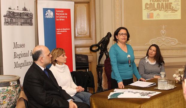 "Ministra de Cultura lanza concurso literario binacional ""Francisco Coloane"" en Punta Arenas"