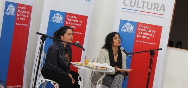 Subdirectora de Cultura se reúne con artistas, gestores y personalidades de Antofagasta