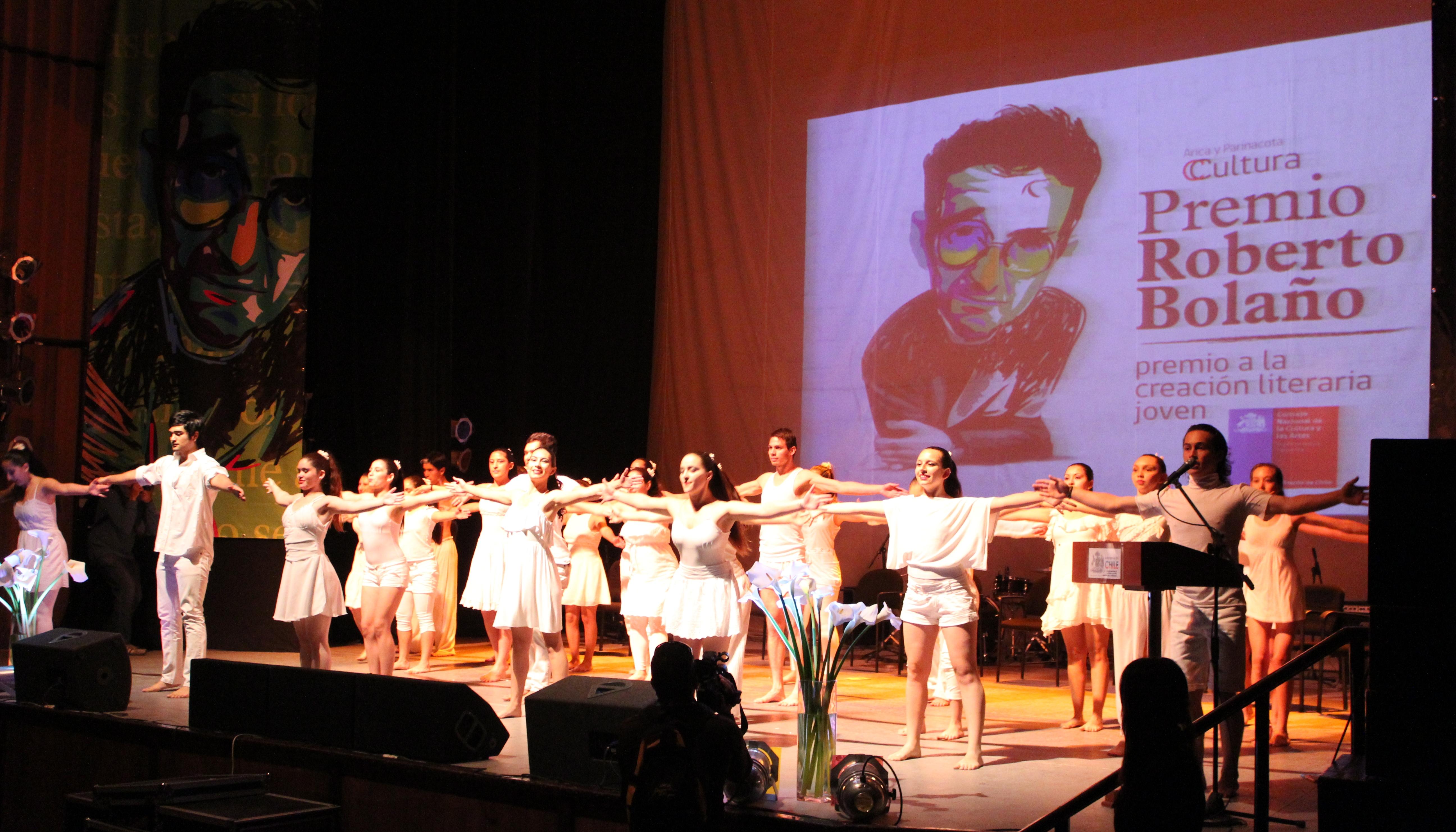 Entrega Premio Roberto Bolaño