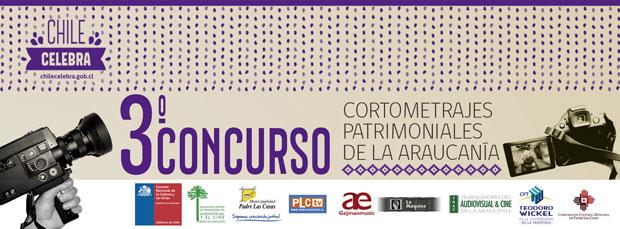 Invitan a participar en Tercer Concurso de Cortometrajes Patrimoniales de La Araucanía