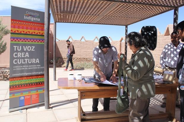 Asistentes de primer encuentro efectuado en San Pedro de Atacama.