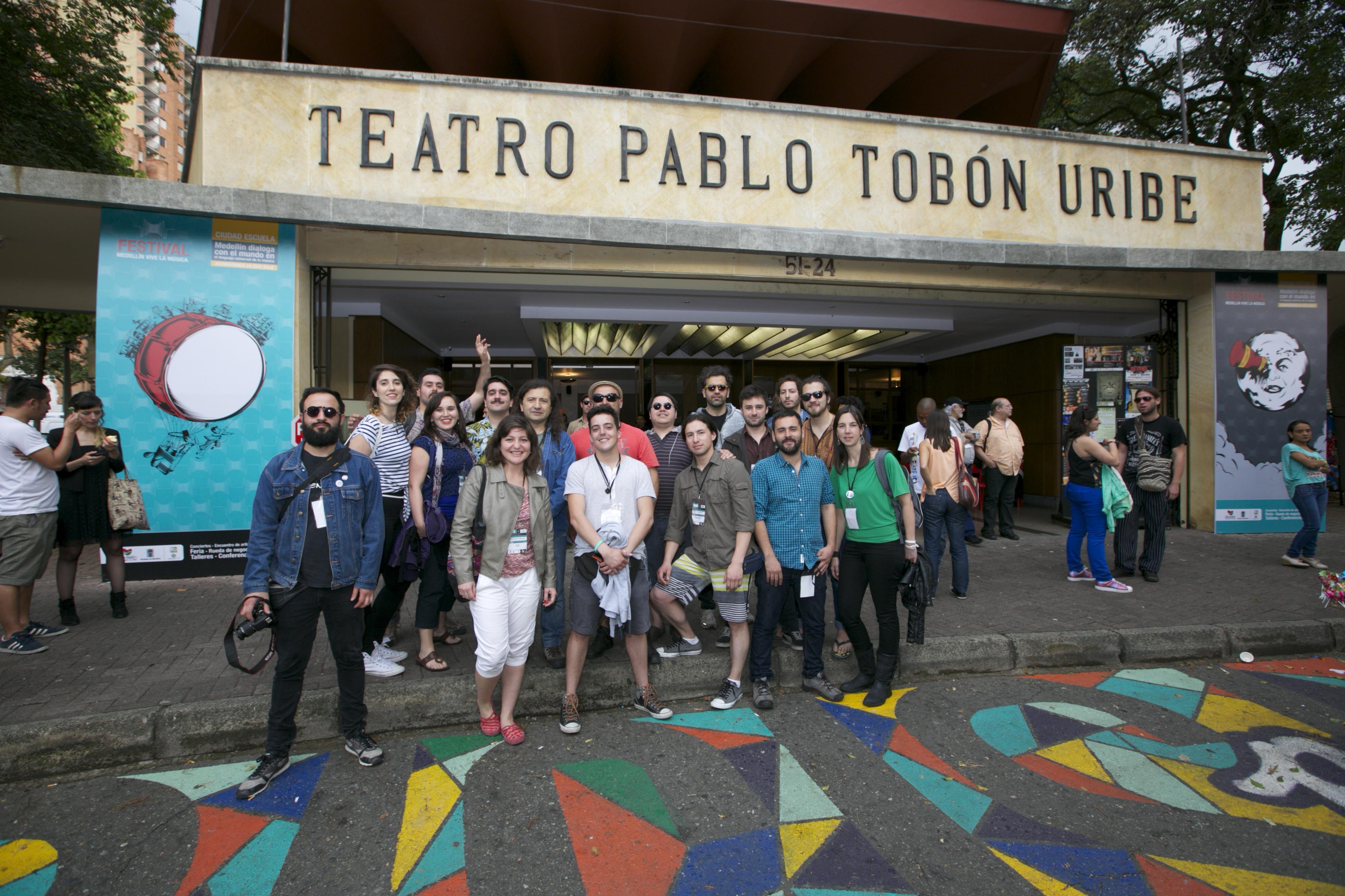 Delegación chilena de la música participa del Mercado Cultural de Medellín Circulart