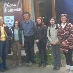 Ruta Neruda en 8va Feria del Libro de San Martín de Los Andes, Argentina