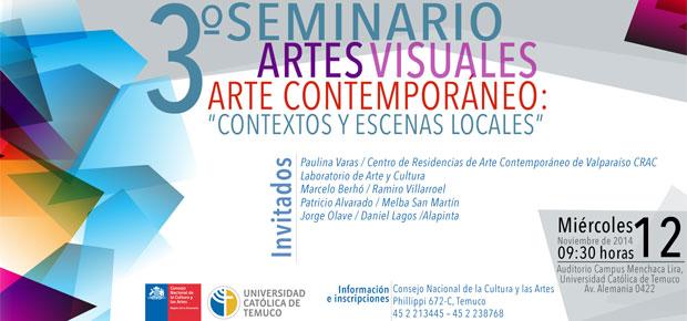 seminario artes visuales temuco