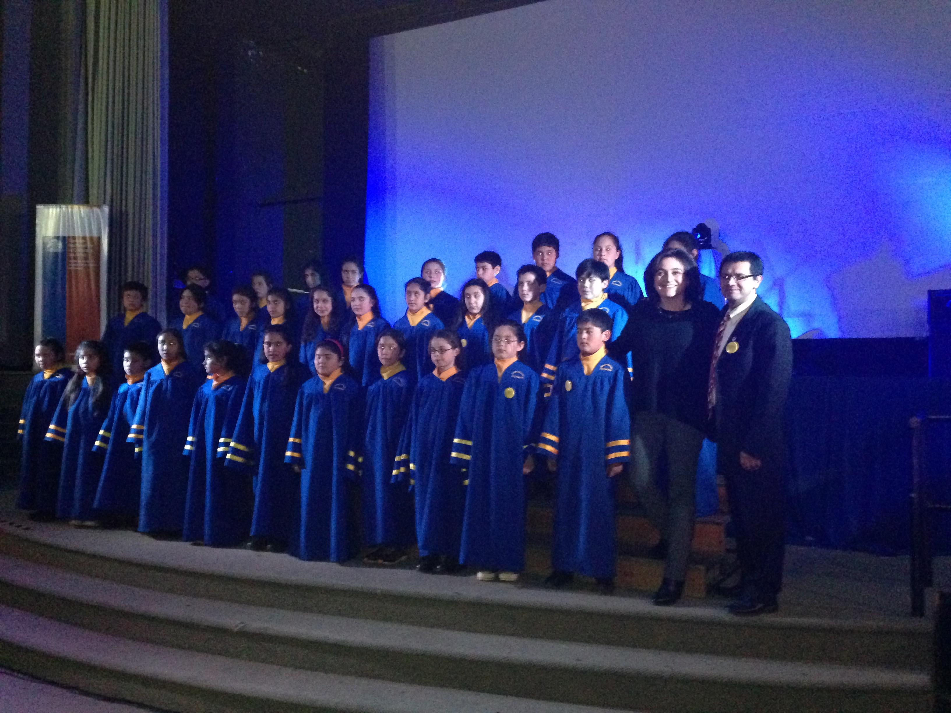 Más de 100 jovenes participaron de la Gala de Artes Musicales
