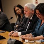 Ministra de Cultura asiste a presentación de libro sobre apoyo de Embajada de Italia a refugiados políticos