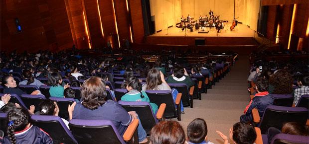 Preescolares disfrutan concierto didáctico en 12 comunas de la región del Maule