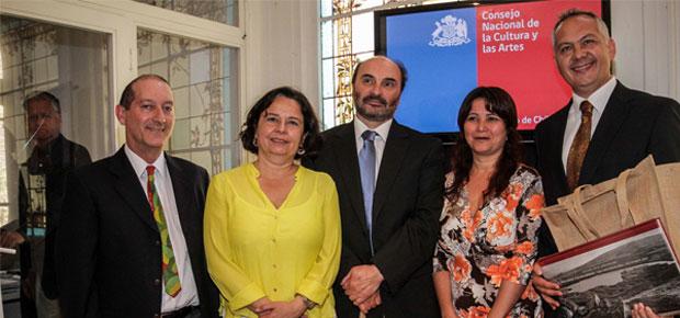 Ministra Barattini anuncia un 70 % más de recursos para el Fondo del Patrimonio 2015