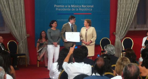 Premio a la Música Nacional Presidente de la República 2014