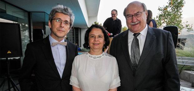 Ministra Claudia Barattini destaca aporte de Antonio Skármeta a las letras chilenas