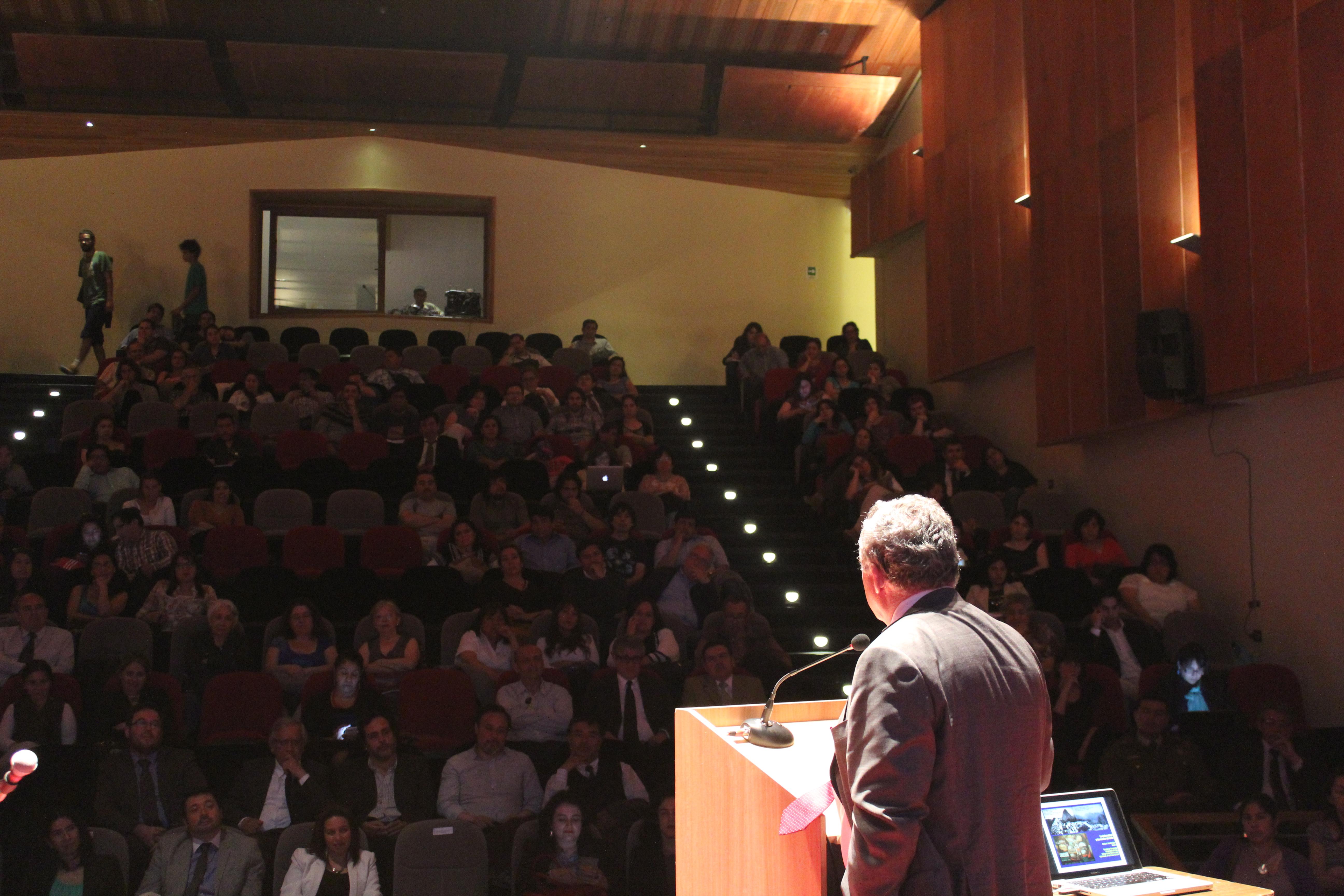 Rector de la UdeChile inaugura Escuela de Temporada 2015